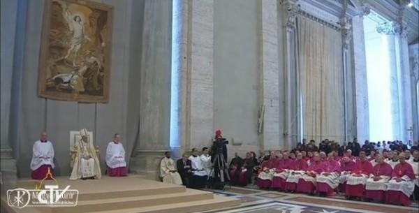 """Az irgalmasság szentévét meghirdető pápai bulla: """"Az irgalmasság arca"""" - Forrás: Vatikáni Rádió"""