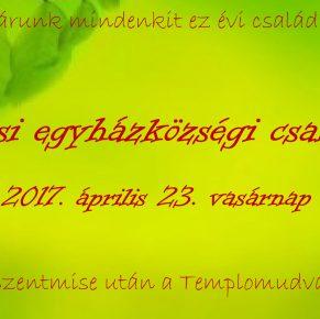 Családi nap április 23-án