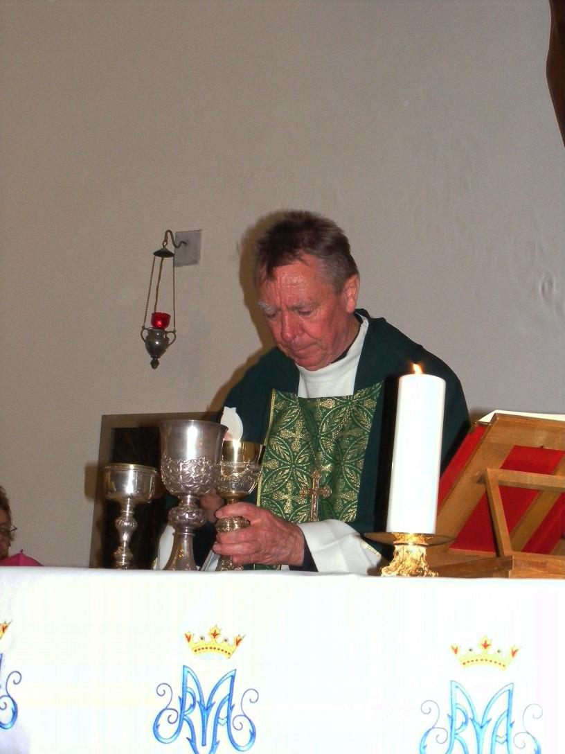 Teremáldás - szentmise - Forrás: Hantos Bálint